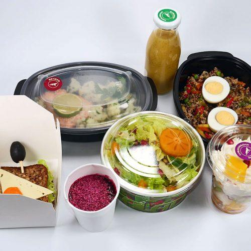 Вегетарианско меню с риба и яйца