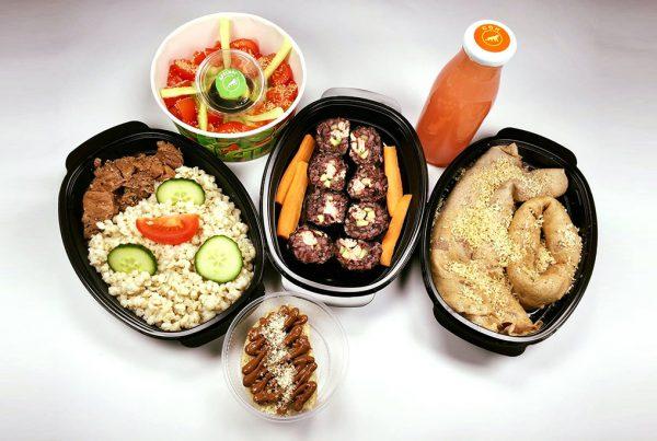 Протеиново меню с телешко и сьомга