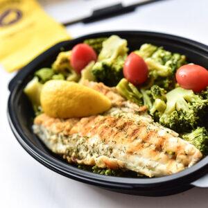 вегетариански обяд от Fit Panther