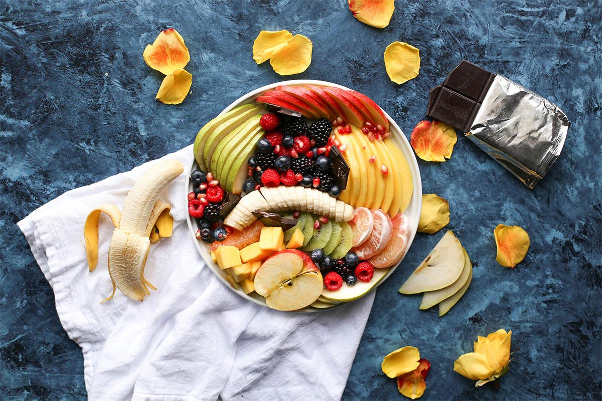 купа с плодова салата