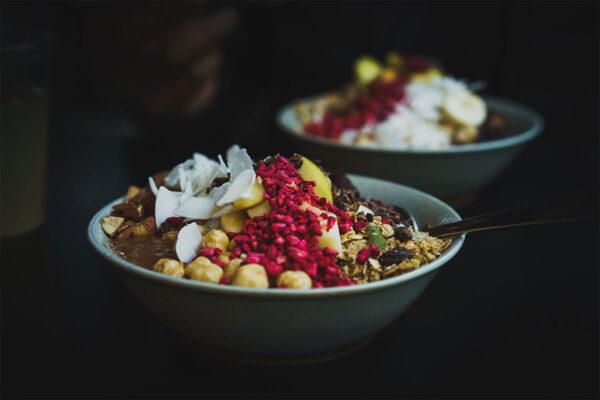 купа със зърнени храни