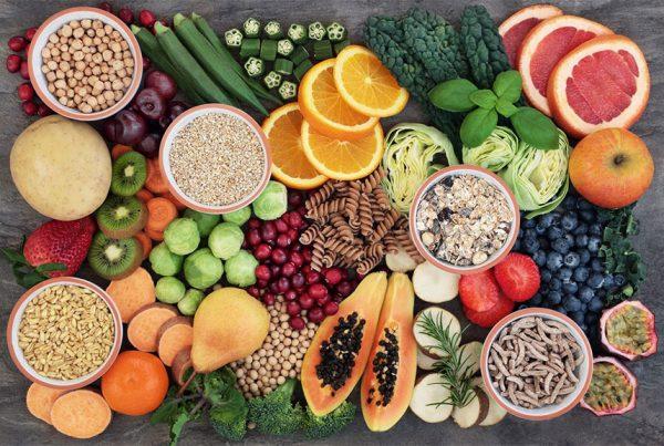 изображение с храни богати на фибри