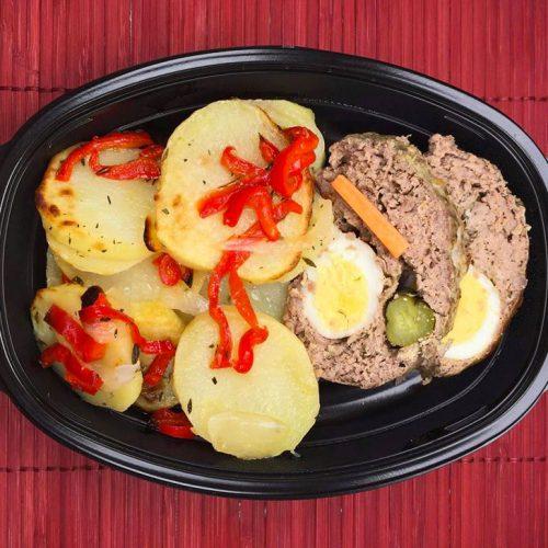 Руло Стефани с печени картофи на фурна