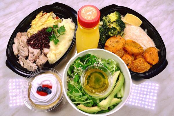 Стандарт меню без закуска от кухня Fit Panther