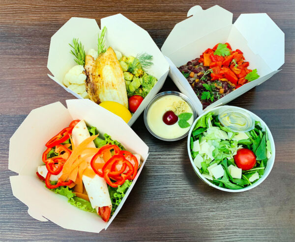 Вегетарианско меню от кухня Fit Panther
