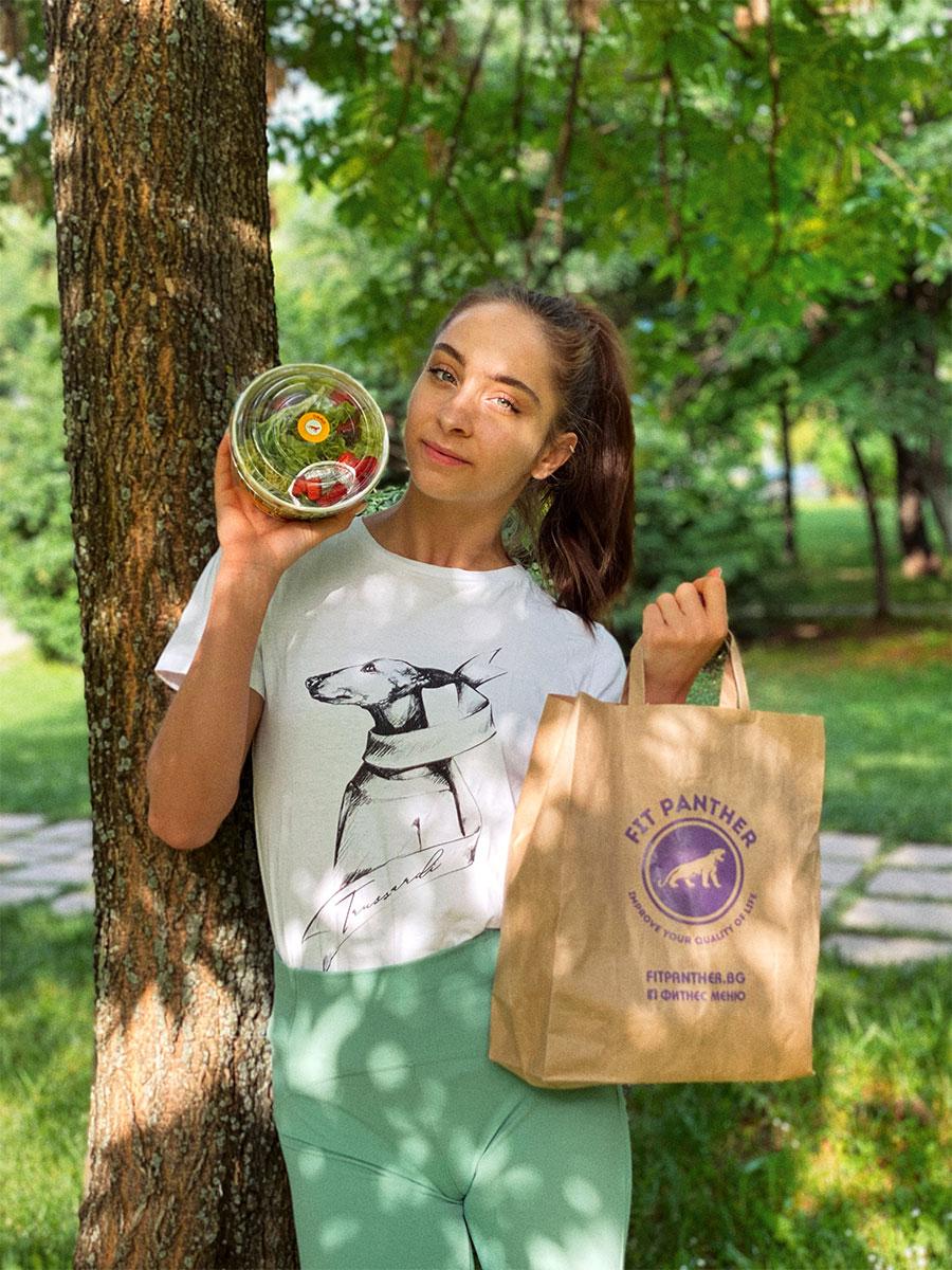 Златното момиче на България Стефани Кирякова с меню от Здравословна кухня Fit Panther