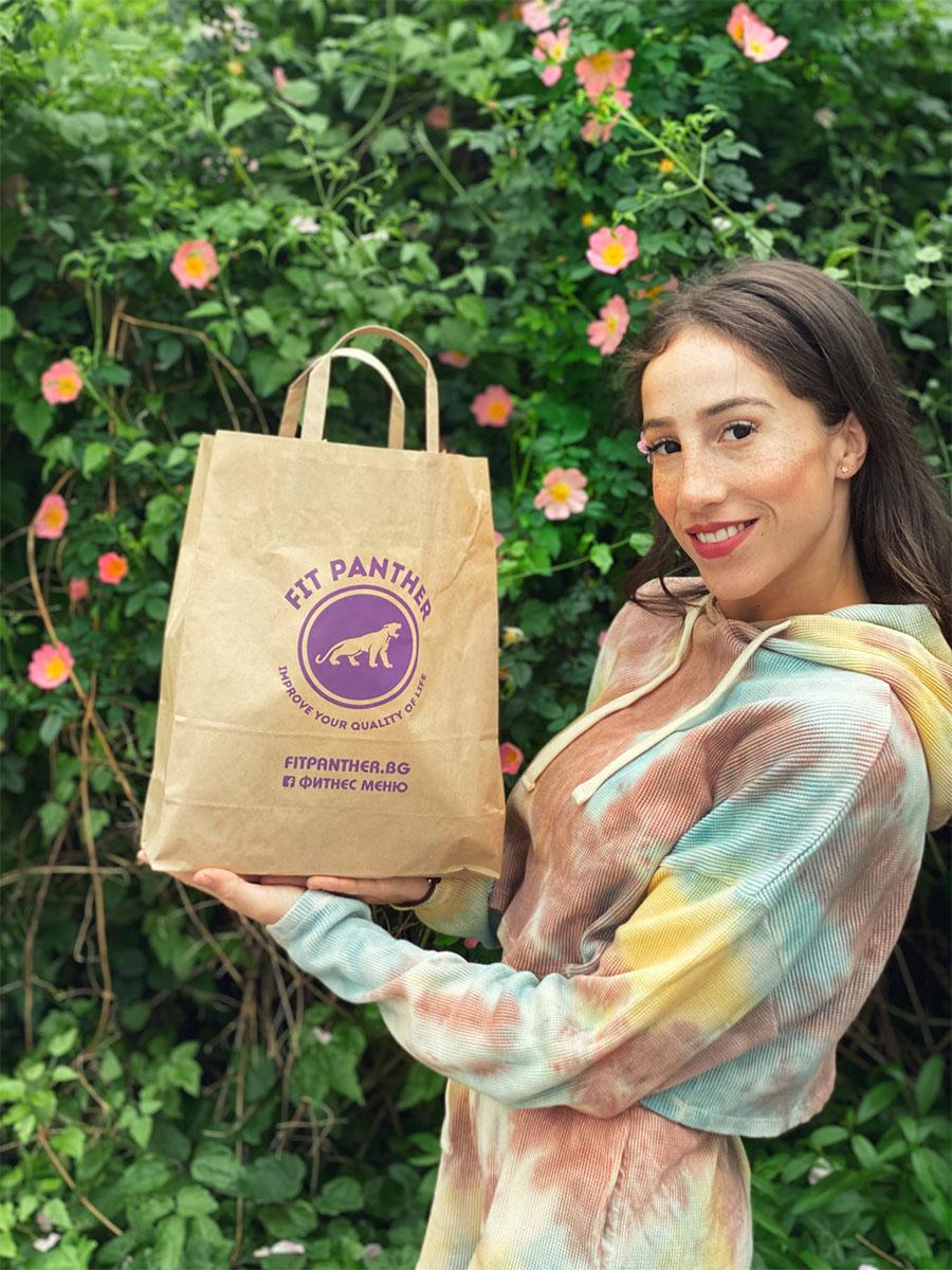 Златното момиче на България Симона Дянкова с меню от Здравословна кухня Fit Panther